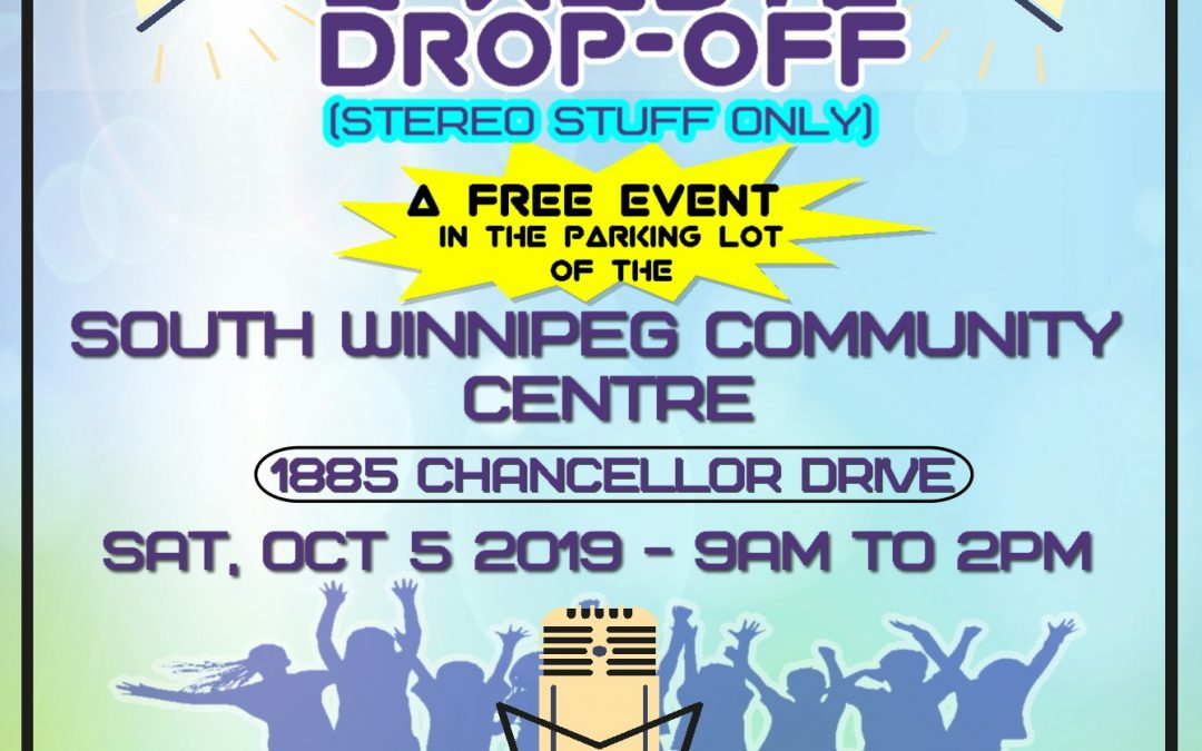 Stereo E-Waste Collection Day – Saturday October 5