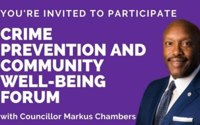 Crime Prevention and Community Well-being Forum